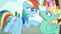 Rainbow threatens to zap Zephyr with storm cloud S6E11