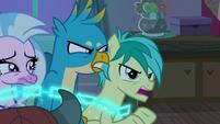 "Sandbar ""could threaten Equestria!"" S8E25"