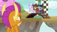 Smolder's friends laughing at her S9E3