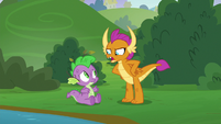"""Smolder """"they aren't lazy lumps"""" S8E24"""