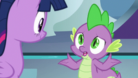 """Spike """"supposed to give her directions"""" S8E7"""