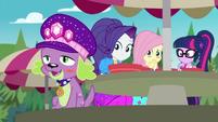 Spike blushing and giggling happily CYOE14b