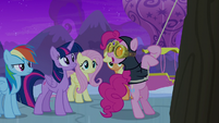 """Spy Pinkie Pie """"these walls are high"""" S7E11"""