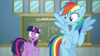 Twilight Sparkle continuing the lesson S6E24