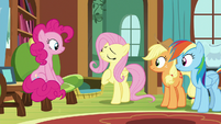 """Fluttershy """"in dire need of a safe place"""" S7E5"""