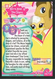 Mayor Mare and Time Turner trading card.jpg