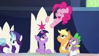 "Pinkie Pie ""classic Twilight-ing"" S9E1"