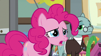 "Pinkie Pie ""it's not a funny one"" S9E14"