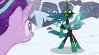 "Queen Chrysalis ""I can hurt you!"" S9E24"