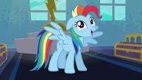 "Rainbow Dash ""I'm always excited!"" S6E7"