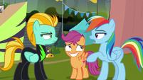 "Rainbow Dash ""should've known you were"" S8E20"