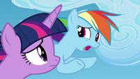 "Rainbow Dash ""the harder I try"" S8E20"