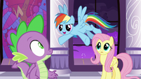 """Rainbow Dash """"we have a miracle!"""" S9E17"""