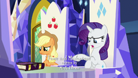 Rarity -ugh, what is that thing-- S7E14