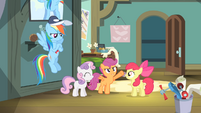 Scootaloo '...and let's win this thing!' S4E05