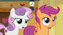 "Sweetie ""we used to only do stuff to get our cutie marks"" S6E4"