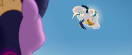 The Wonderbolts fly up to another cloud MLPTM
