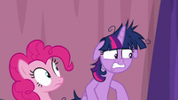 Twilight embarrassed by her outburst S9E16