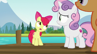 Apple Bloom -can't seem to talk any sense- S7E21