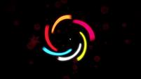 FG intro - spiraling lights EG3