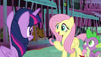"""Fluttershy """"get the other monsters to help"""" S8E26"""