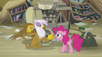 Gilda demands bits from Pinkie S5E8