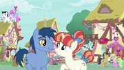 Hearts and Hooves day couples in Ponyville S8E10.png