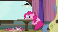 Pinkie Pie sulking in the corner S9E16