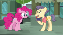 """Pouch Pony """"really hard to come by these days"""" S6E3"""