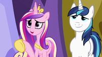 """Princess Cadance """"for dinner, not to babysit"""" S7E3"""