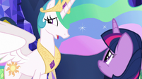 """Princess Celestia """"I was afraid"""" S7E1"""
