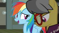 """Rainbow Dash """"make sure you're all right"""" S7E18"""