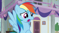 "Rainbow Dash ""my students are gone!"" S8E1"