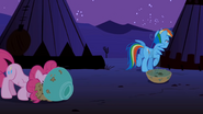 Rainbow Dash layering error S01E21