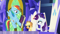 """Rarity """"it is called calligraphy"""" S7E14"""