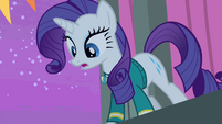 Rarity 'and everypony saw you singing' S4E14
