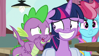 """Spike """"the one pony who could mess up"""" S9E16"""