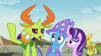 "Thorax ""led the maulwurf to the hive"" S7E17"