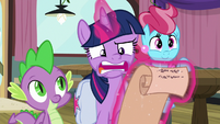 """Twilight """"there aren't many ponies left"""" S9E16"""