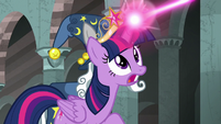 Twilight Sparkle -fight the darkness, Stygian!- S7E26