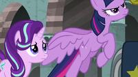 Twilight Sparkle taking flight S7E26