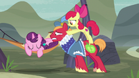Apple Bloom pushes Big Mac even closer to Sugar Belle S7E8