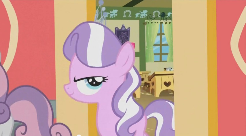 Diamond Tiara Walks Out of the Classroom with a Smirk on Her Face S02E12.jpg
