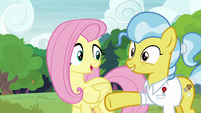 Fluttershy -you should have plenty of room- S7E5