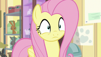 Fluttershy realizes what's happened S7E5