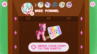 MLP Friendship Celebration app - Coco Pommel unlocked