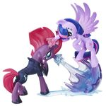 MLP The Movie Fan Series Tempest Shadow and Twilight Sparkle figures