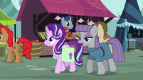 "Maud Pie ""rocks take on different properties"" S7E4"
