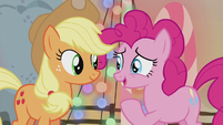 Pinkie Pie nervous -all the stuff she said- S5E20