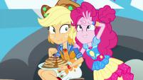Pinkie pretends to have three eyes again EGSBP